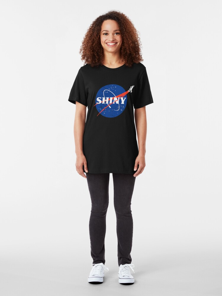 Alternate view of Shiny Slim Fit T-Shirt
