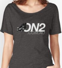 On2 - Black & White Women's Relaxed Fit T-Shirt