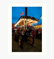 Showmans Engine Art Print