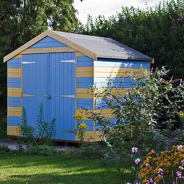 My 'Beach Hut' shed! by BizziLizzy