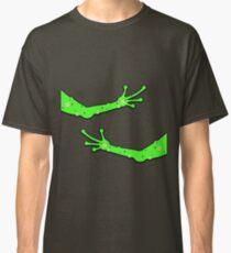 Alien Arms Space Man Hug Green Finger Tickle Classic T-Shirt