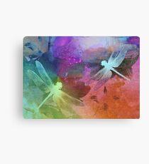 Amazing Dragonflies. Canvas Print