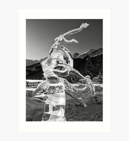 The Angel of Lake Louise Art Print