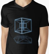 Hypercube Men's V-Neck T-Shirt