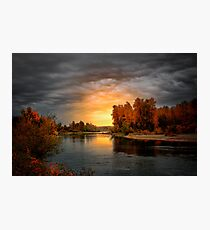 Fall Is In The Air ~ Willamette River ~ Photographic Print