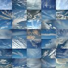 Patchwork of Clouds in a Blue Sky by cuilcreations
