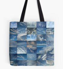 Patchwork of Clouds in a Blue Sky Tote Bag