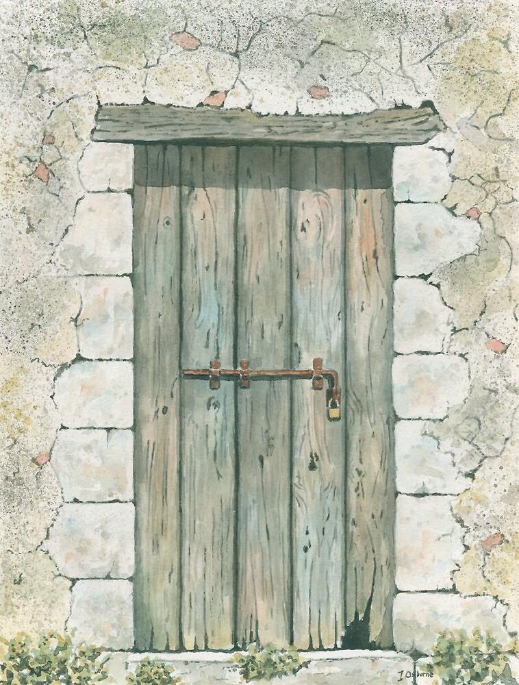 Old Wooden Door by ian osborne