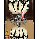 Dada Tarot- 2 of Cups by Peter Simpson