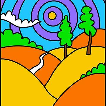 Landscape 1 by Babyfishbrain