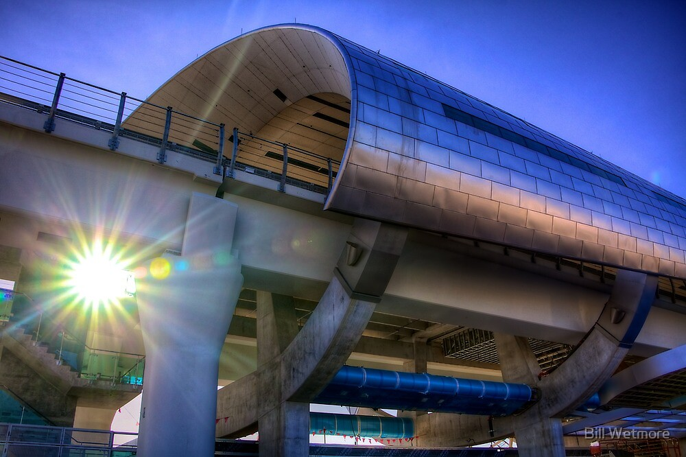 A New Landmark - Miami Central Station by Bill Wetmore