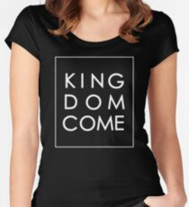 Kingdom Come - White Women's Fitted Scoop T-Shirt