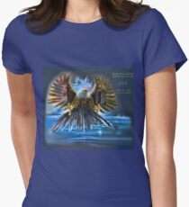 Memories Never Die Tribute 9/11 Women's Fitted T-Shirt