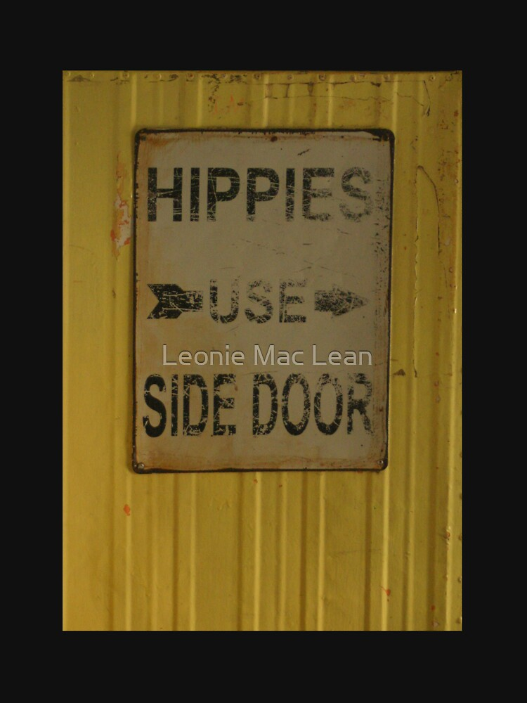 Hippies Use Side Door by yallmia
