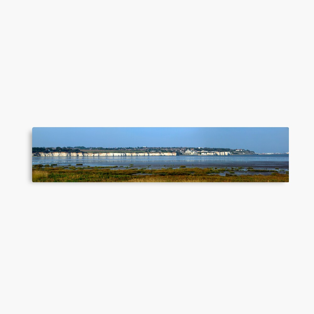 Pegwell Bay Nature Reserve  Canvas Print
