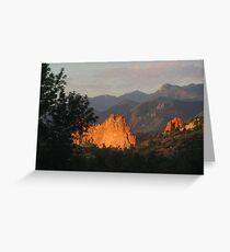 Colorado Mornin' - Garden of the Gods Greeting Card