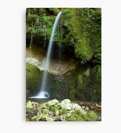 Mitovski waterfall Canvas Print