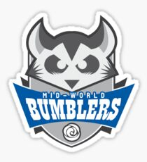 The Mid-World Bumblers Sticker