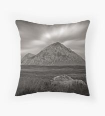 Echoes of Mountain-ness Throw Pillow
