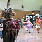 Native American dancers: Seneca Fall Festival by Ray Vaughan