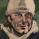 David Beckham by Nigel Silcock