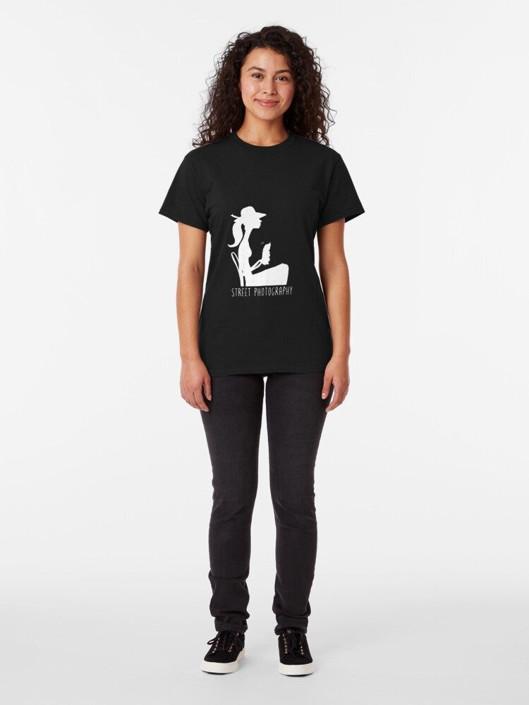Alternate view of Street photography silhouette Classic T-Shirt