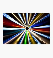 Colorful Eclipse 1 Photographic Print