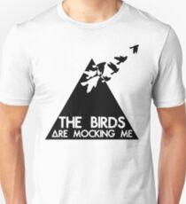Camiseta unisex Burlas de pájaros