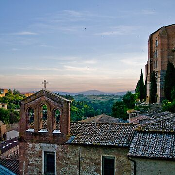 Siena Italy - Afternoon HDR by Rosestone