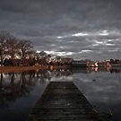 Doomsday - Water back in Lake Wendouree by Rosestone