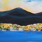 The sails of Sandy Bay  by Rachel Ireland Meyers