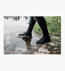 Yeezy Boost Splash Photographic Print