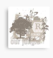 Tree Art Ecology Metal Print