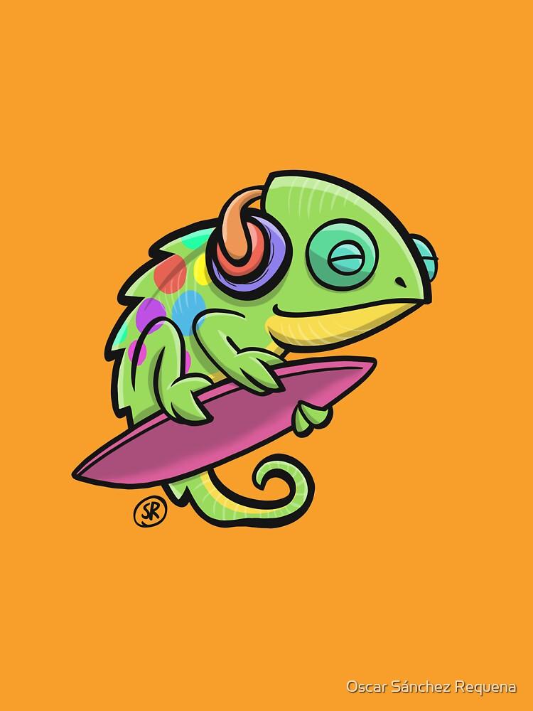 Musical Chameleon by oscarsanchez