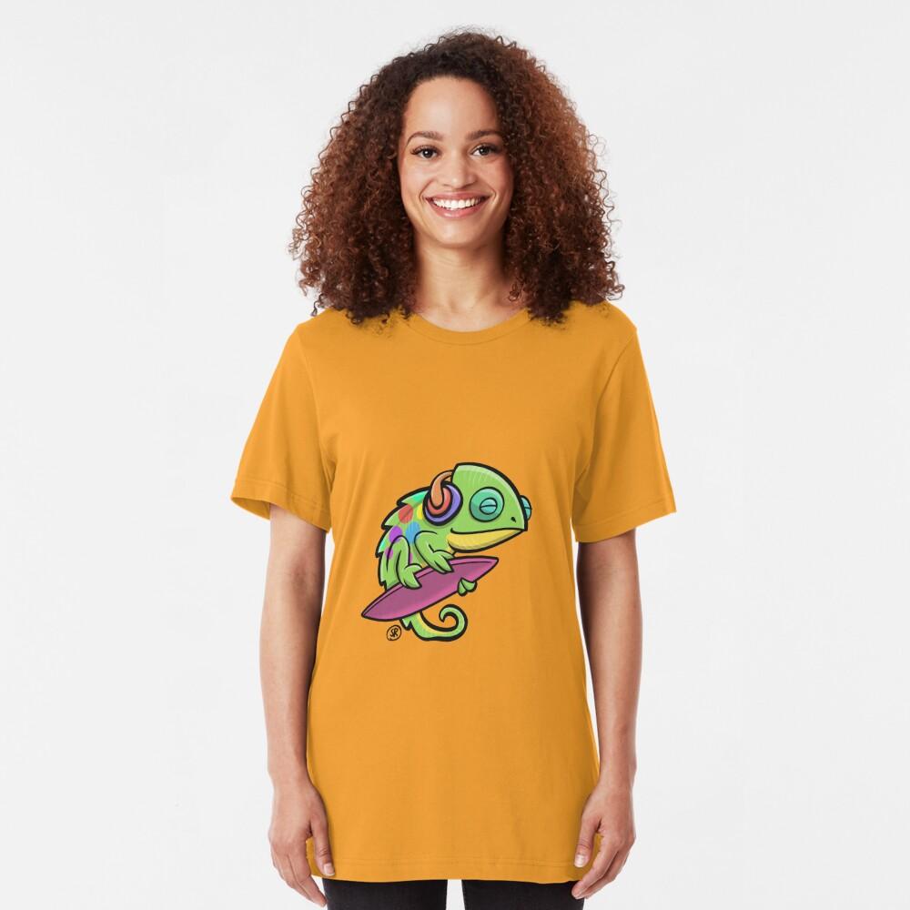 Musical Chameleon Slim Fit T-Shirt