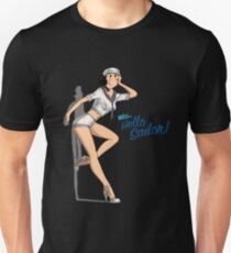 Olive Oil Pin Up Girl ! T-Shirt