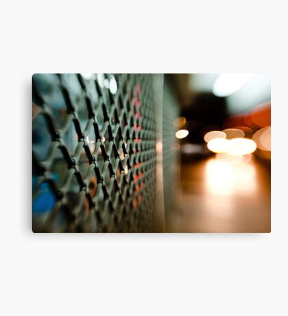 lattice@night Canvas Print