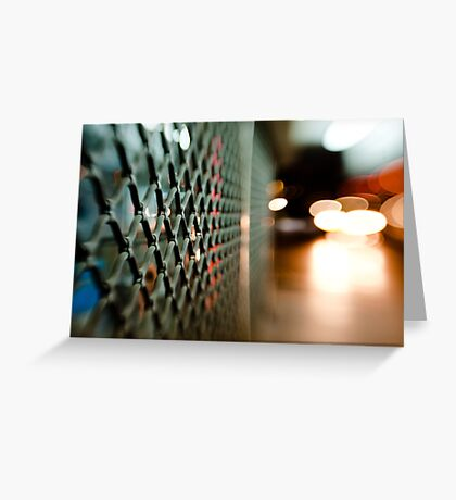 lattice@night Greeting Card