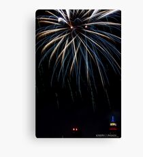 Untitled, ID4 Over the City Hudson Canvas Print