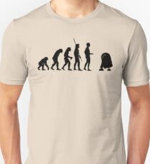 Evolution robot R2D2 Unisex T-Shirt