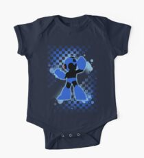Super Smash Bros. Mega Man Silhouette Kids Clothes