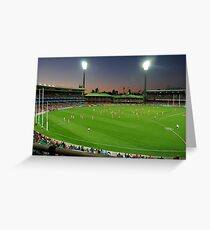 Sydney Cricket Ground - Sunset Greeting Card