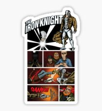 The Iron Knight Sticker