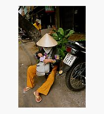 Streets of Ho Chi Minh Photographic Print