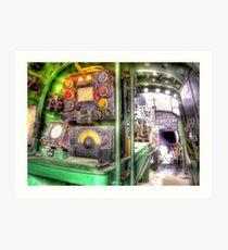 Lancaster Interior - HDR Art Print