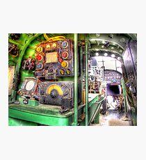 Lancaster Interior - HDR Photographic Print