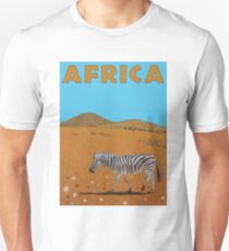 Landscape with Zebra Unisex T-Shirt