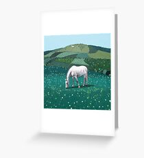 The White Horse of Alfriston Greeting Card