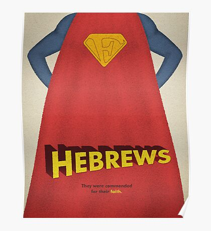 Word: Hebrews Poster