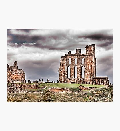The Ruins of Tynemouth Priory Photographic Print